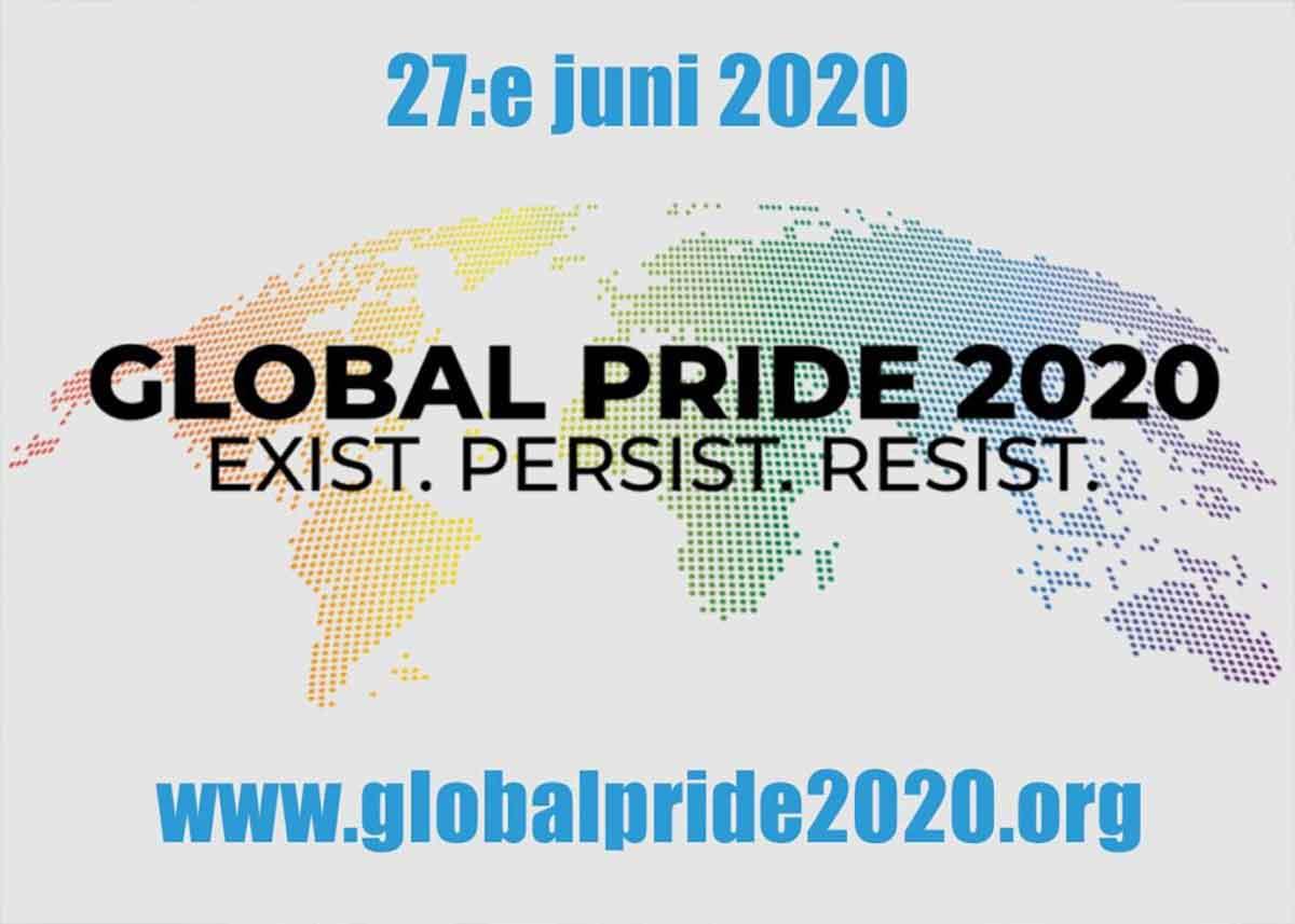 Städbolaget Hem och kontor i Växjö stödjer Global pride.