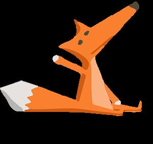 The Tipsy Red Fox designar kläder med unika tryck.