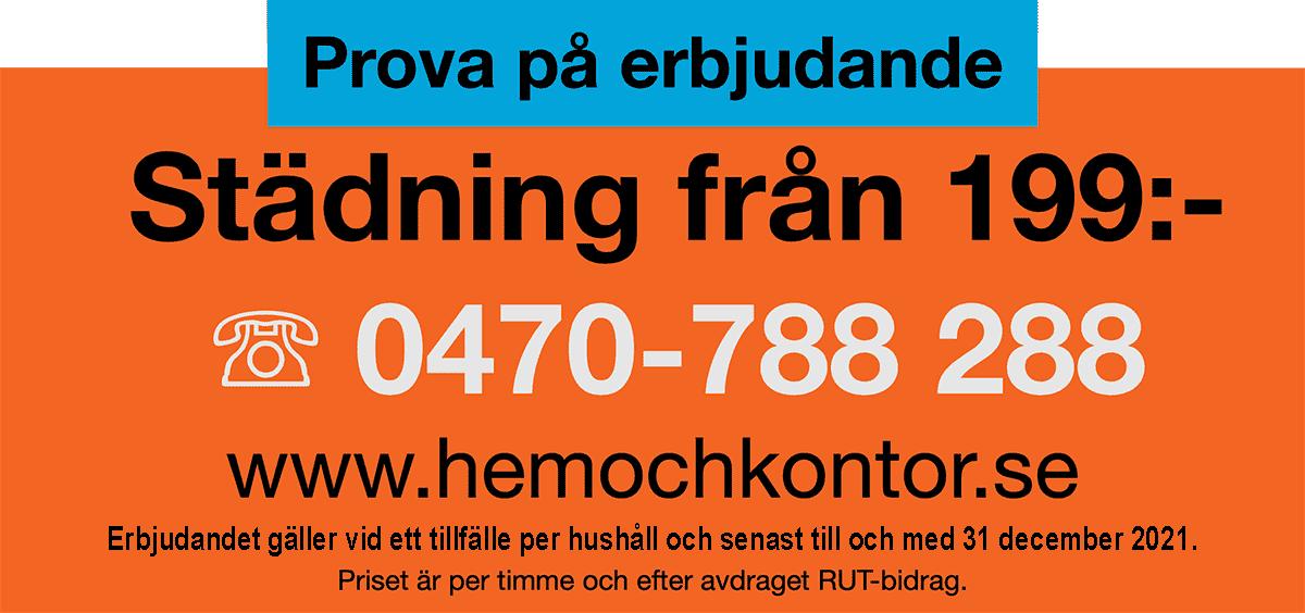 Hemstädning i Växjö och Alvesta till bäst pris.