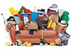 Våra bästa städtips: rensa hemma. Bli av med saker du inte behöver.